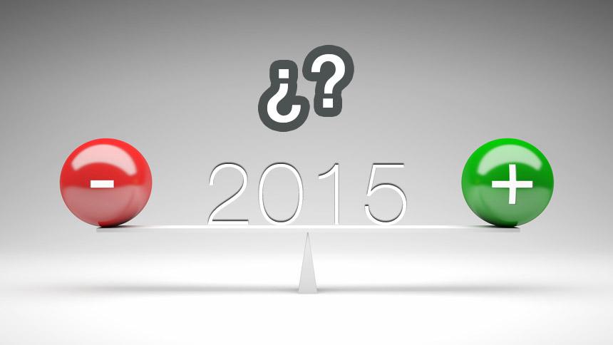 ¿2015 mejor que el 2014?