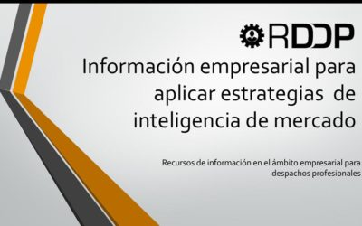 Nuevo informe en RDDP