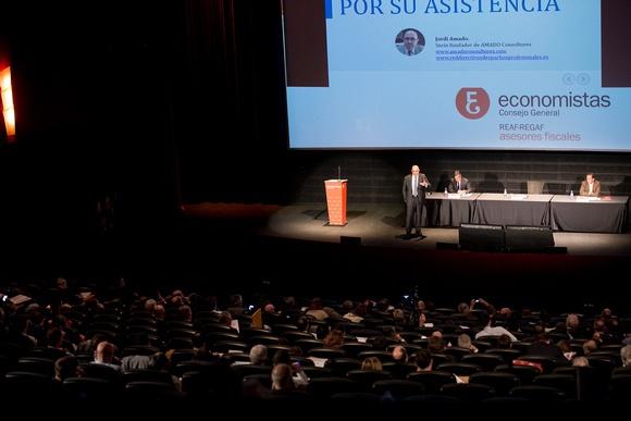 Jordi Amado imparte una conferencia sobre la sucesión en los despachos profesionales en las Jornadas tributarias 2016 del REAF-REGAF