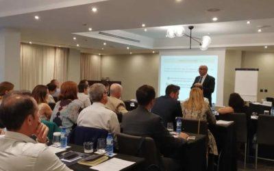 Jordi Amado imparte una conferencia en la delegación territorial de Castellón y Valencia de la AEDAF