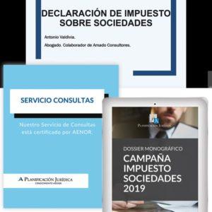 Solución completa Impuesto sobre Sociedades 2019