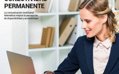 Los clientes de despachos y asesorías exigen conectividad permanente según EL ECONOMISTA